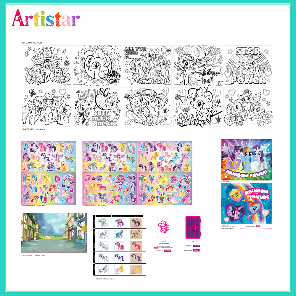 My Little Pony Stamp Activity Set 2