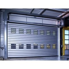 Aluminum Foaming Fast Spiral Door with 40mm