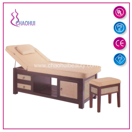 Wooden Facial Bed For Beauty Shop