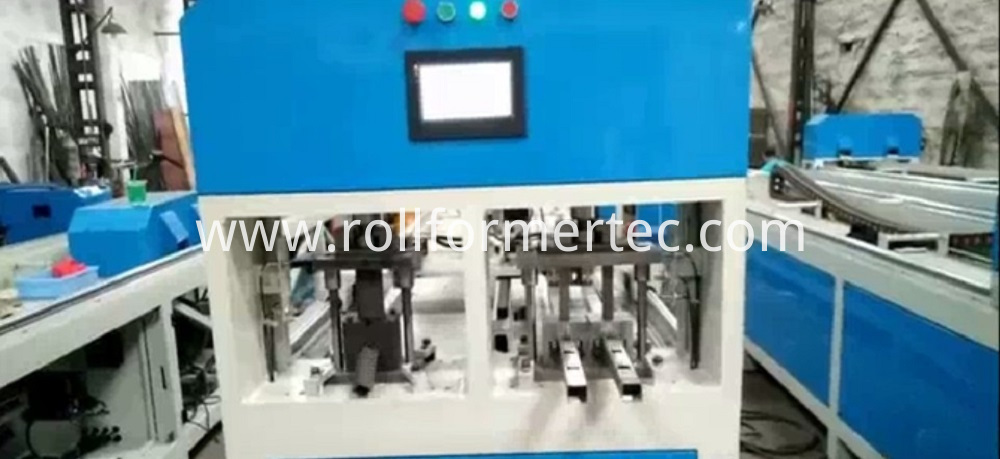 square tube punching machineg