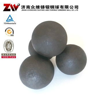 Forged Ball Mill Grinding Media For Mine 110MM