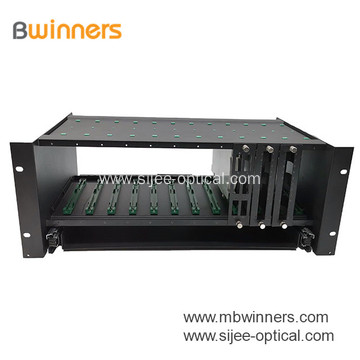 3 RU Fiber Enclosure Fiber Optic Patch Panel 144 port