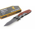 Wholesale Browing Wood Pocket Knife
