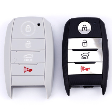 Silicone Car Key Cover Case For Kia