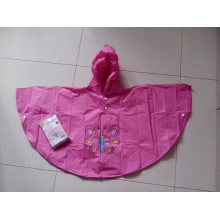 One of Hottest for Cute Kids PVC Raincoat Cheap Wholesale Children Rain Poncho supply to South Africa Exporter