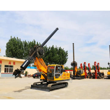 Hydraulic Hole Crawler Rotary Drilling Rig For Sale