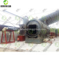 Waste Tire Recycling to Oil Plant with CE