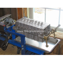 CXAS-1 Stainless Steel Plate and Frame Filter Press