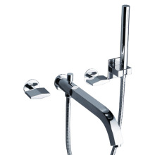Bathroom Bathtub  Shower Faucet Brass