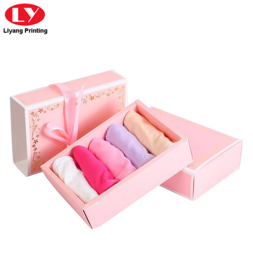 Women's Underwear Packaging Foldable Drawer Boxes