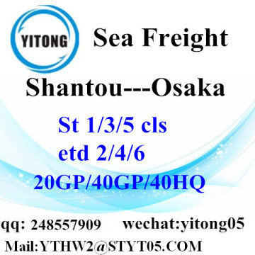 LCL Conslation Service From Shantou to Osaka