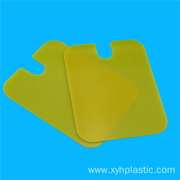 Yellow Epoxy Fiberglass Sheet
