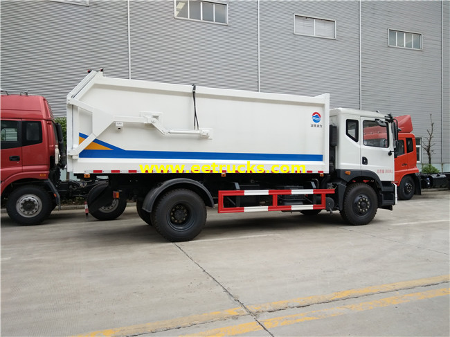 10000L Garbage Compression Trucks
