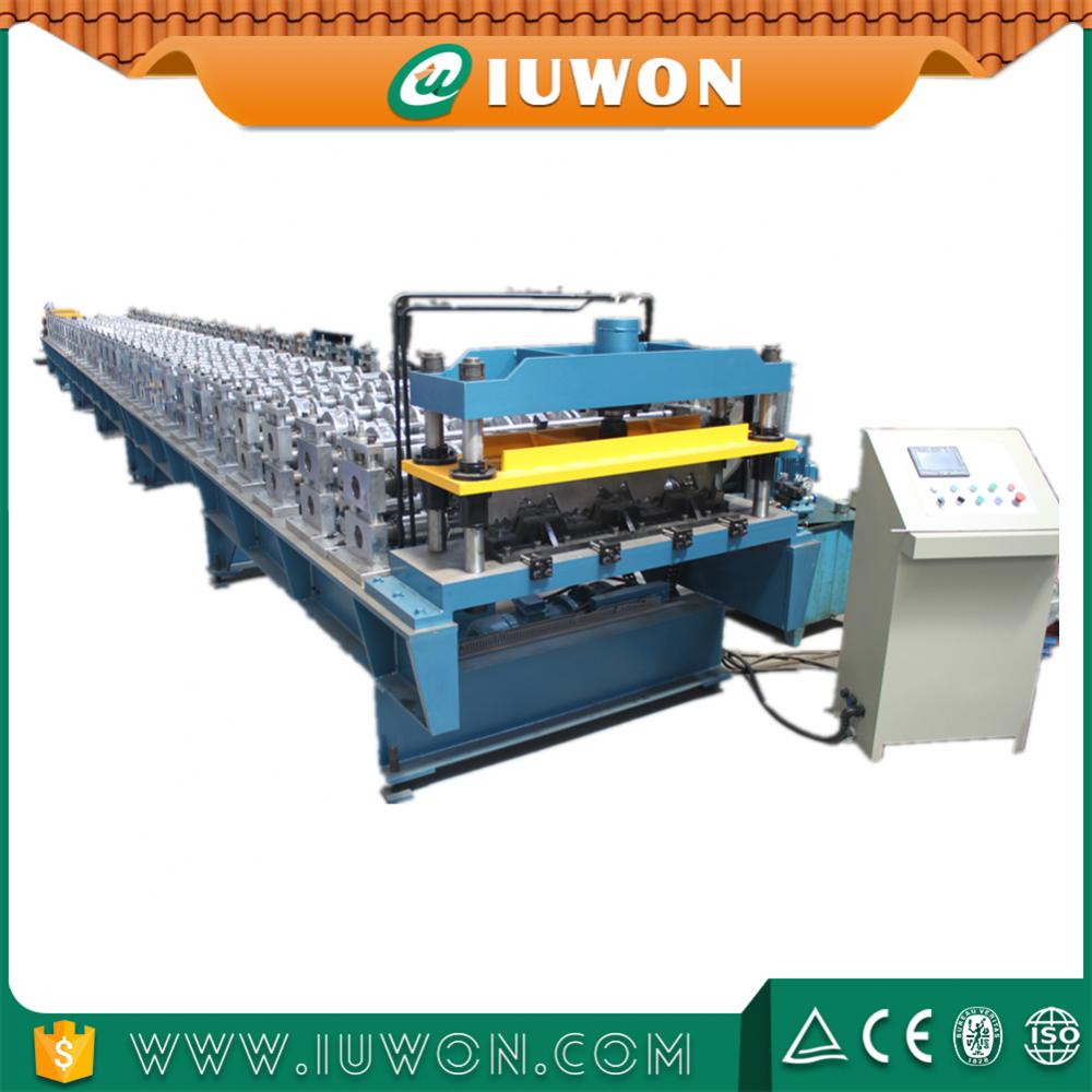 Galvanized Floor Deck Cold Roll Forming Machine