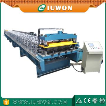 Cheap price for Steel Deck Former Floor Decking Tile Roll Making Forming Machine export to Armenia Exporter