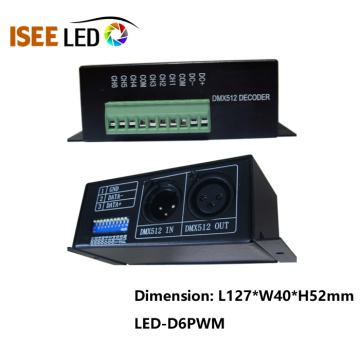 RGBW 4CH Led Lighting PWM Decoder