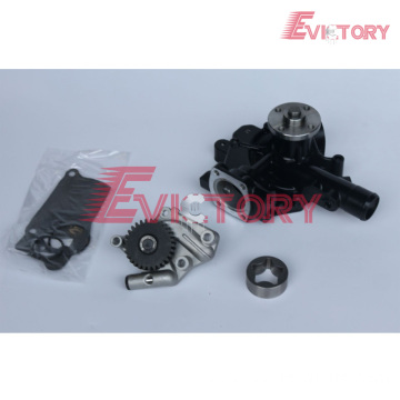 VOLVO parts D5E water pump D5E oil pump