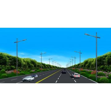 Wholesale Price for China supplier of Street Lighting Pole, Lamp Pole, Powder Coated Lighting Pole Single Arm Bracket Light Poles export to Djibouti Supplier