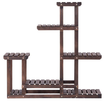 Bonsai Display Shelf Indoor Outdoor Yard Garden Patio Balcony Multifunctional Storage Rack Bookshelf