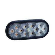 "China Gold Supplier for Led Trailer Rear Lamps 100% Waterproof DOT 6"" Oval LED Trailer Indicator Lamps export to Albania Wholesale"
