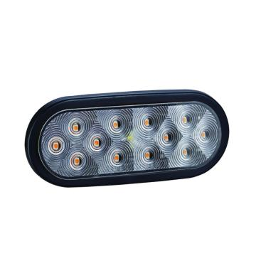 "Factory Price for Led Trailer Lights 100% Waterproof DOT 6"" Oval LED Trailer Indicator Lamps export to French Guiana Supplier"
