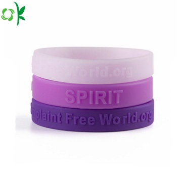 Good Quality Multicolor Silicone Bracelet for Gift