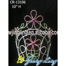 2018 Lady Crown Women Rhinestone Tiara