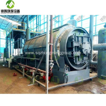What is Pyrolysis Plant of Biomass and Gasoline