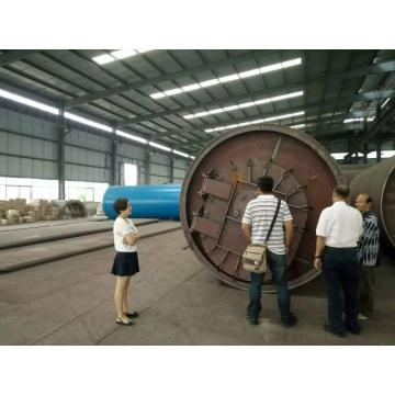 black oil sludging  pyrolysis machine