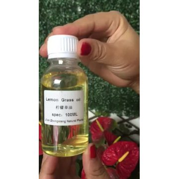 Private Label Natural Lemongrass Essential Oil
