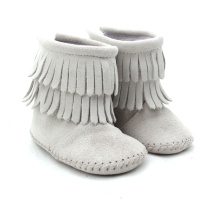 New Fashion Design for Winter Baby Boots Multi-Color Genuine Leather Moccasins Baby Boots supply to South Korea Factory