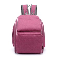 Stylish Polyester Mother Care Baby Diaper Backpack Bag