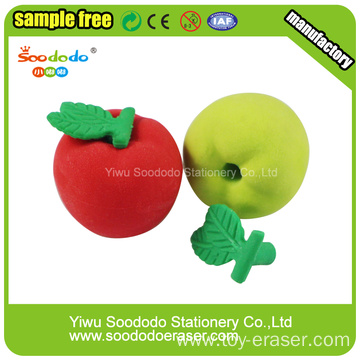 Apple Shaped Eraser,Eraser stationery items for schools