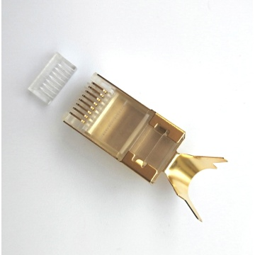 Conector Cat7 rj45 conector FTP CAT7 modular