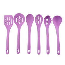 Plastic Handle Silicone Cooking Tool Set