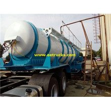 New Tri-axle 21000 Litres Sulfuric Acid Trailers