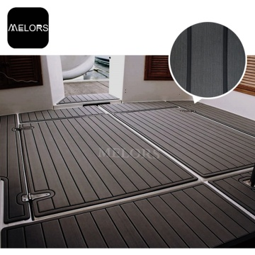 Melors Composite Teak Decking Mats Boat Flooring