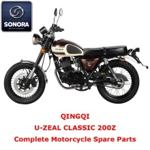 Qingqi U-ZEAL CLASSIC 200Z Complete Motorcycle Spare Part