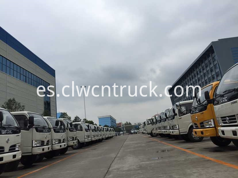 waste transport truck factory show