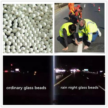 Thermoplastic Road Marking Reflective Glass Beads