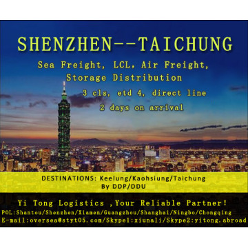 Shenzhen Sea Freight to Taichung