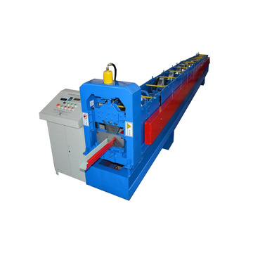 Professional China for Gutter Roll Forming Machines Steel Rain Gutter Metal Roofing Roll Forming Machine export to Moldova Importers