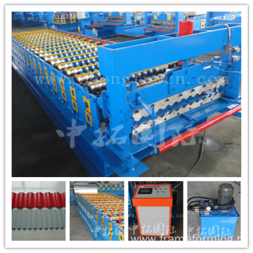 metal roof tile making machine roof forming machine roll forming machine