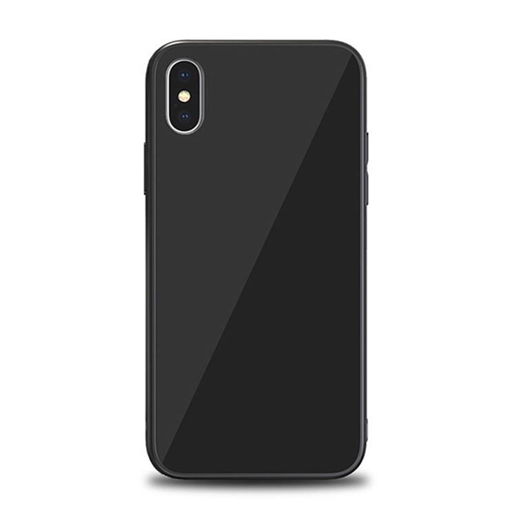 iPhone X Tempered Glass Case