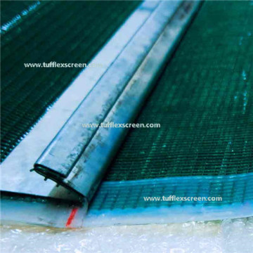 Polyurethane Coated Steel Wire Rope Screen mesh