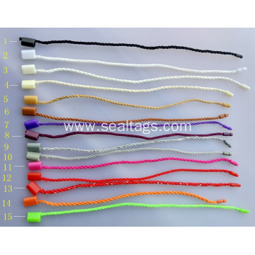 Hot Sale One Side Simple Plastic Cord Tag