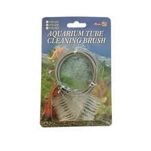 Dual-Head Spring Aquarium Tube Brush - Medium