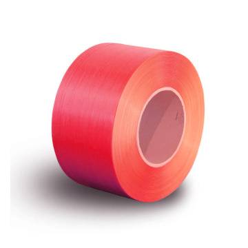 Virgin material Red Machine grade PP strap