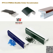 PMMA on PVC Substrate Co-extrusion Construction Profiles