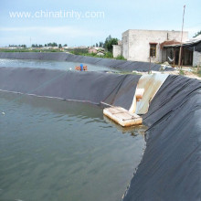 0.75mm HDPE geomembrans as fish pond liner